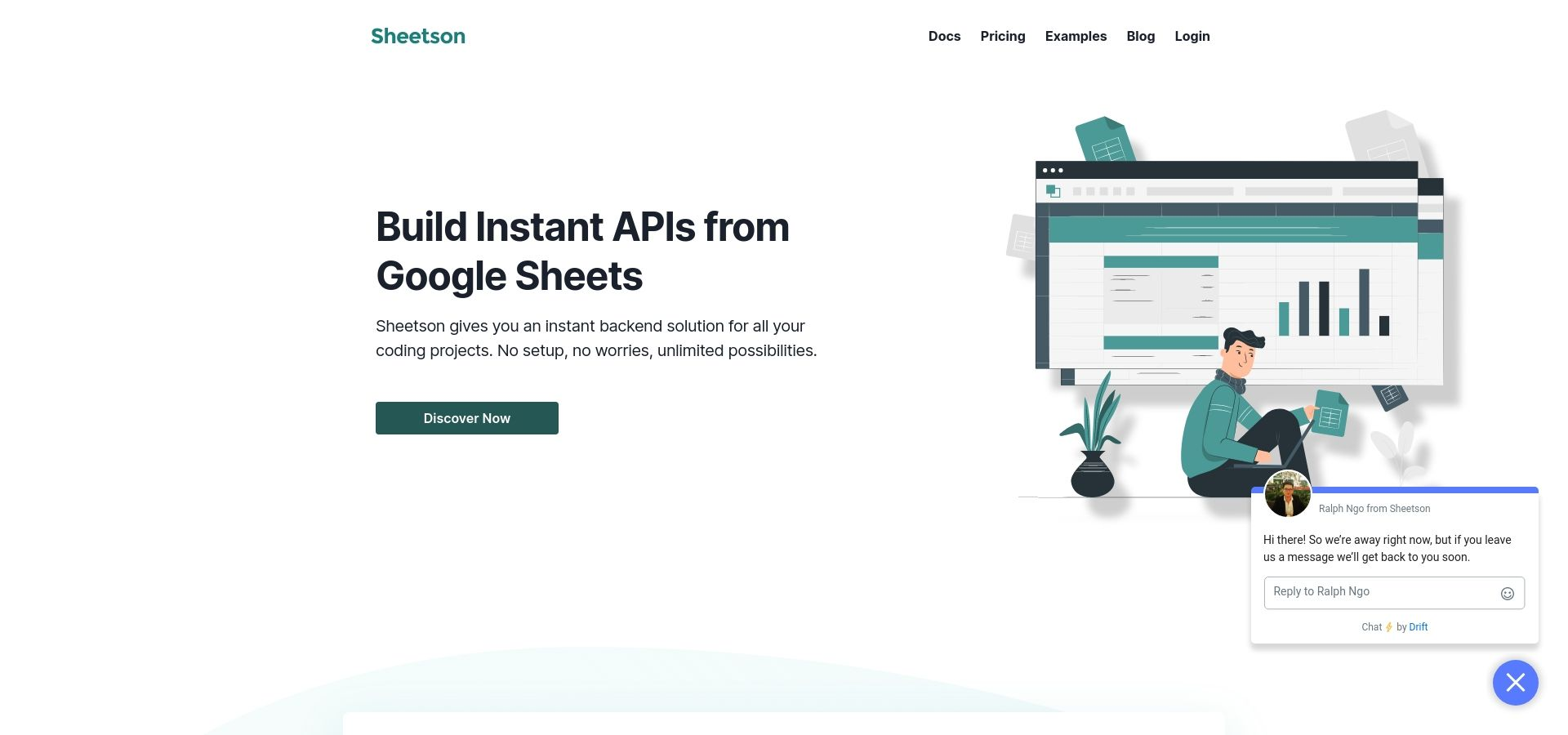 Sheetson - Build Instant APIs from Google Sheets
