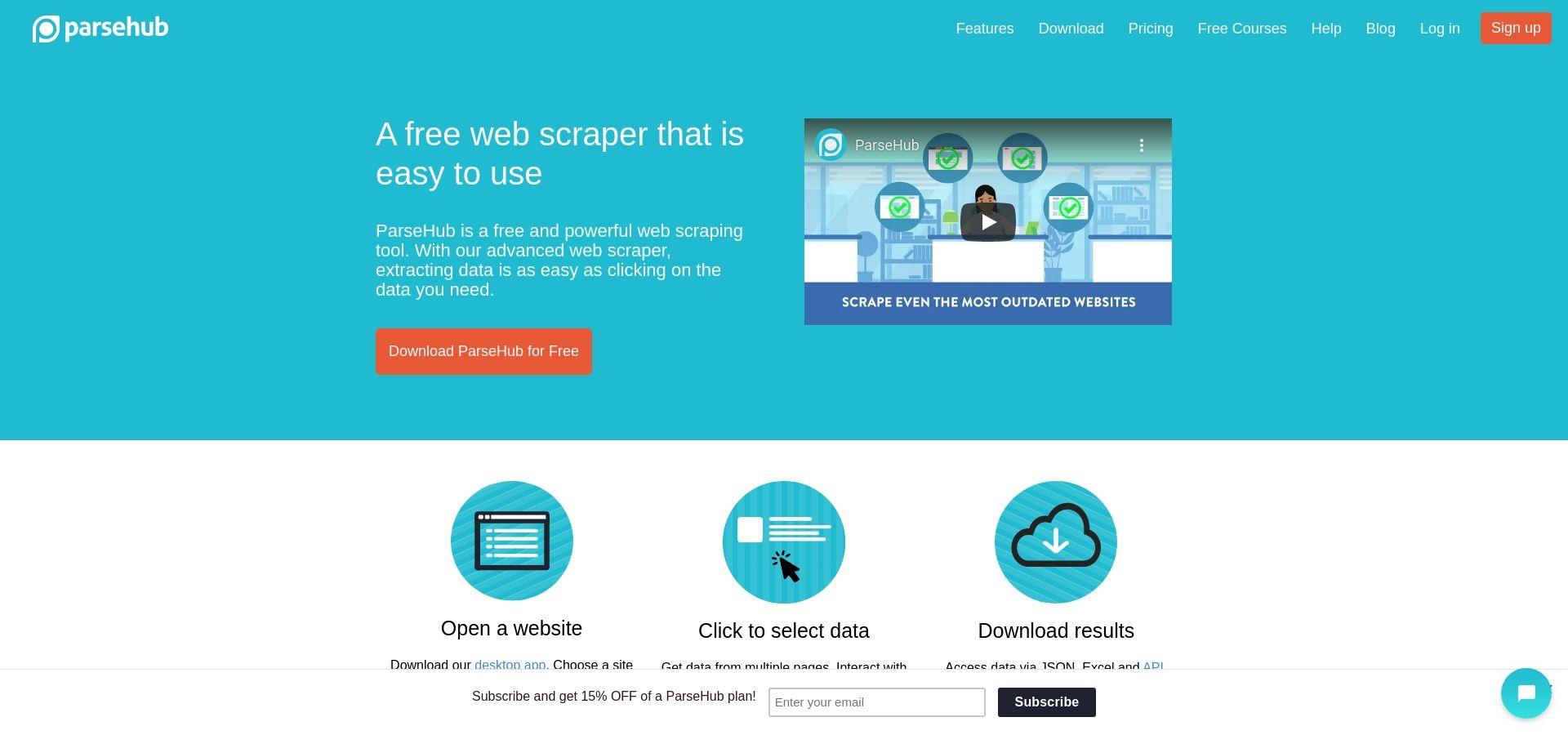 ParseHub | Free web scraping - The most powerful web scraper