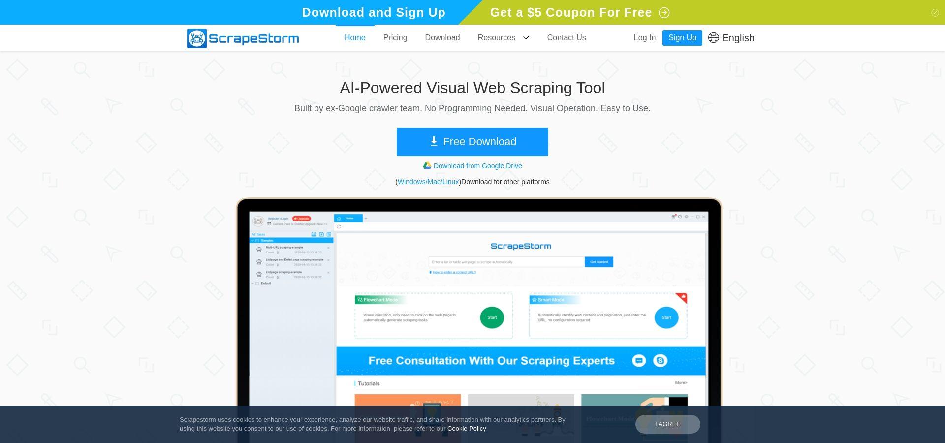 AI-Powered Web Scraping Tool & Web Data Extractor | ScrapeStorm