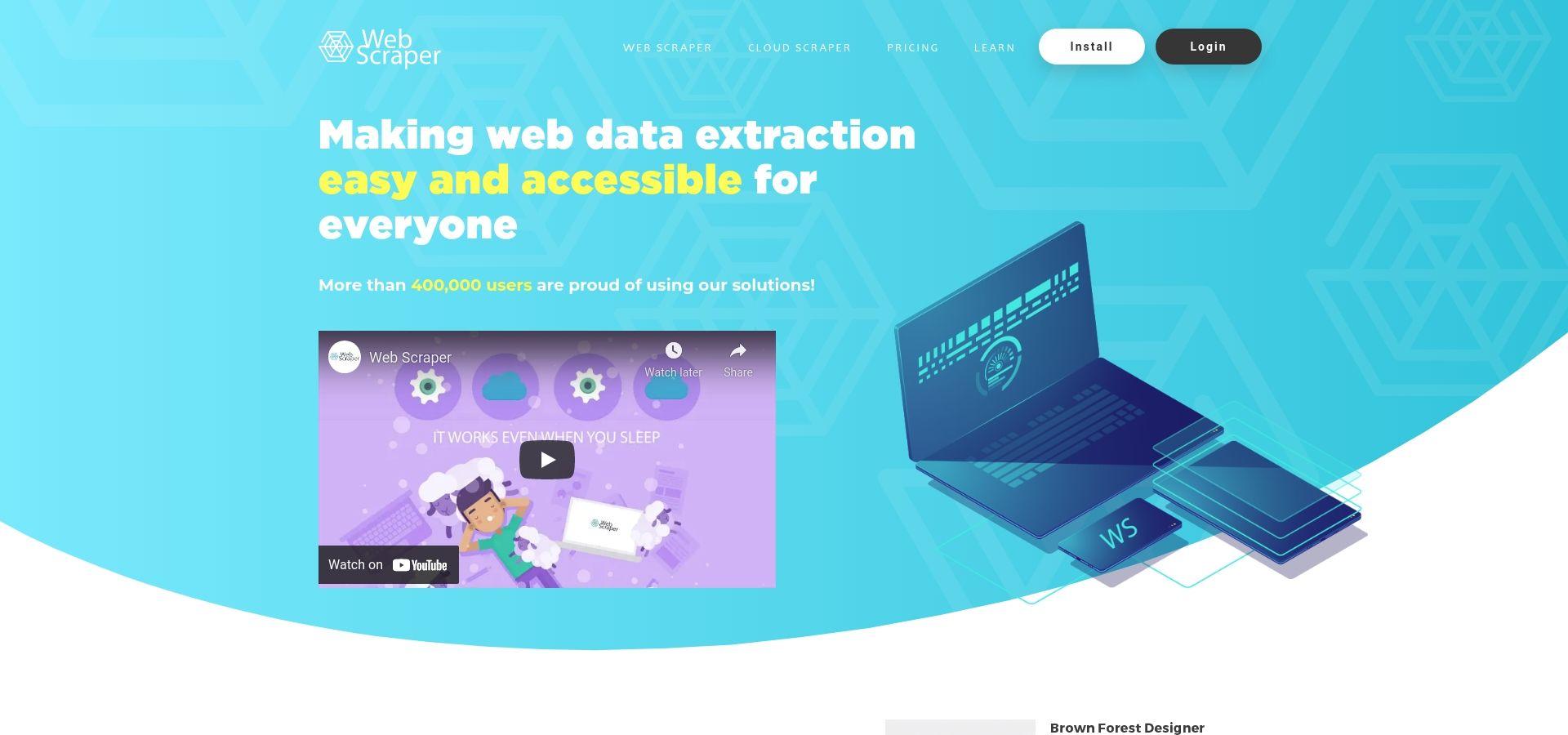 Web Scraper - The #1 web scraping extension